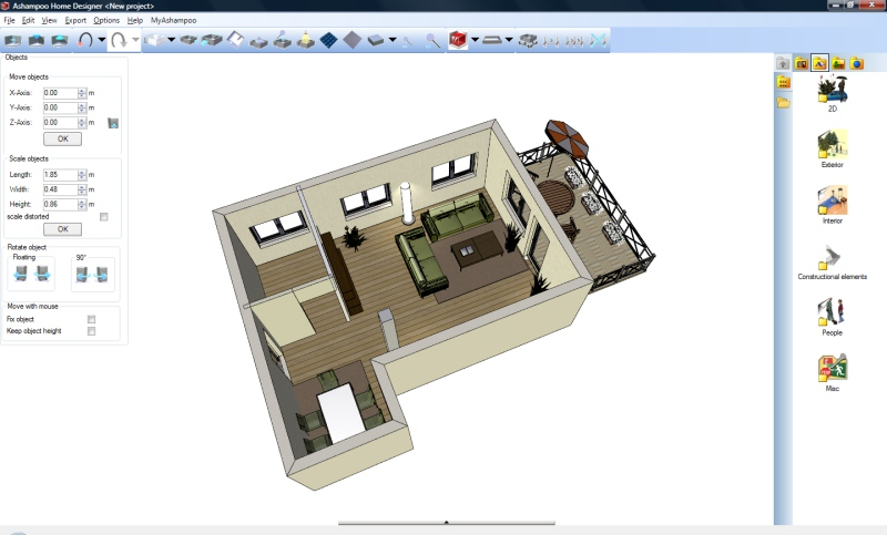 3d home design plans software free download for Free 3d house design software online
