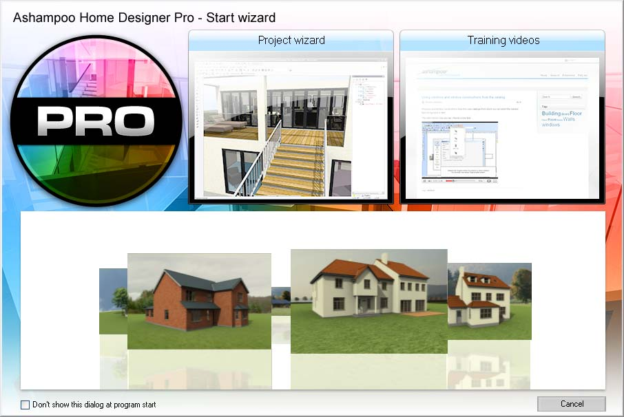 Ashampoo Home Designer Pro Screenshot