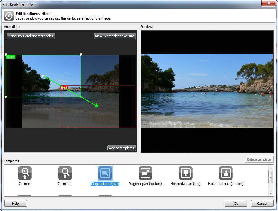 برنامج إنشاء شرائح أوتوماتيكية التشغيل مع موسيقى Ashampoo Slideshow Studio HD 2 0 4