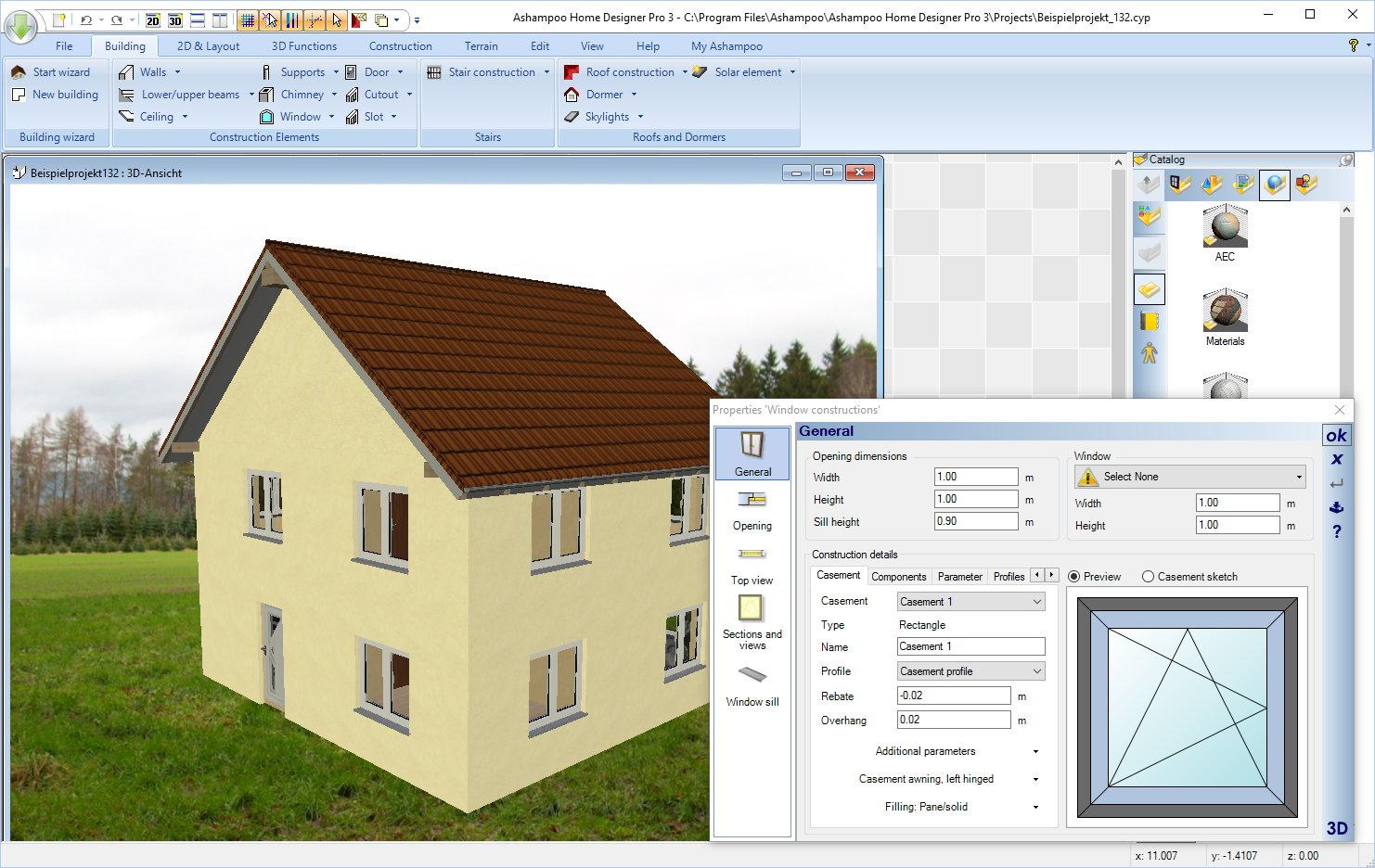 Ashampoo Home Designer Pro 3, planla, tasarla, dekore et, hayal evi, Ashampoo Home Designer, Home Designer Pro 3
