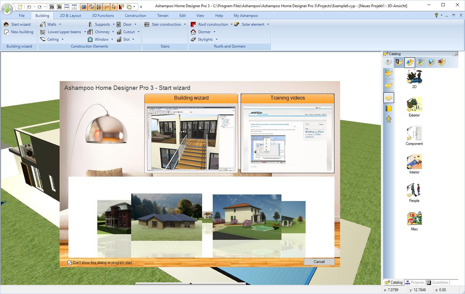 Ashampoo Home Designer Pro 3, Ashampoo Home Designer