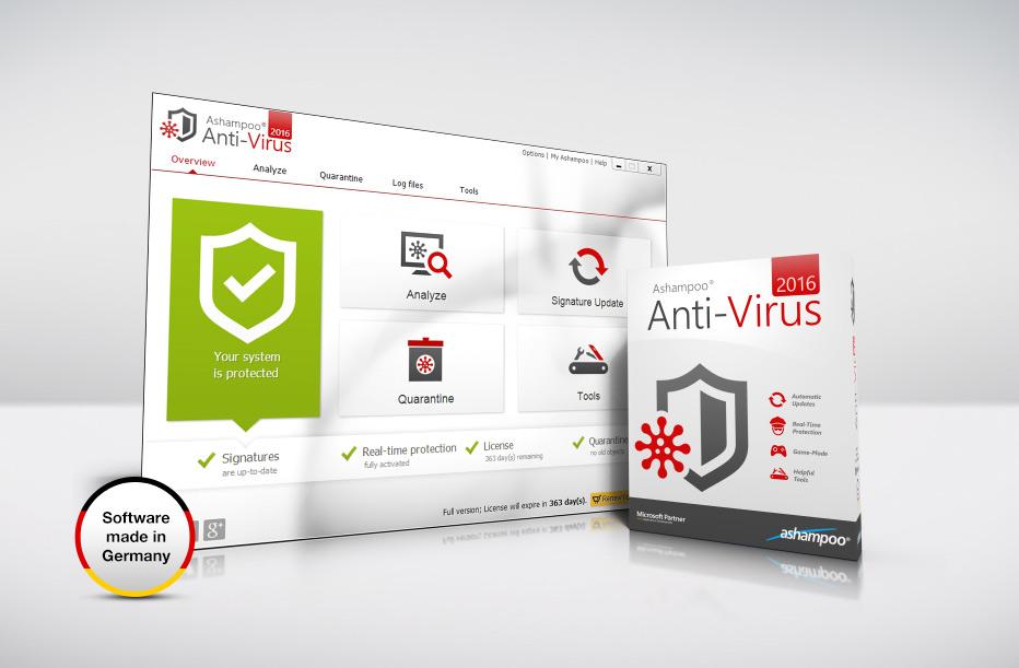 Ashampoo AntiVirus 2016,Ashampoo AntiVirus indir