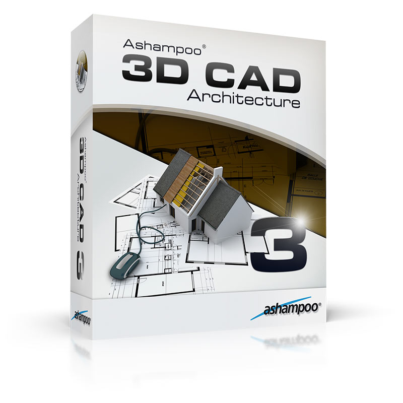 Ashampoo 3d cad architecture 3 overview for Software cad 3d