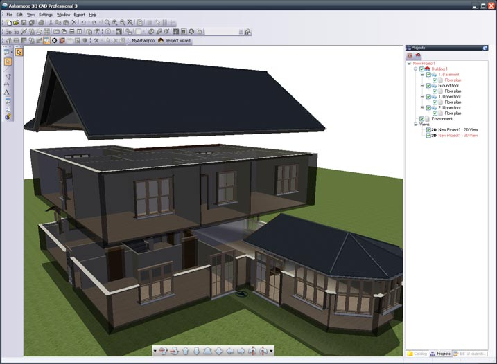 Program Highlights With House Maker 3d.
