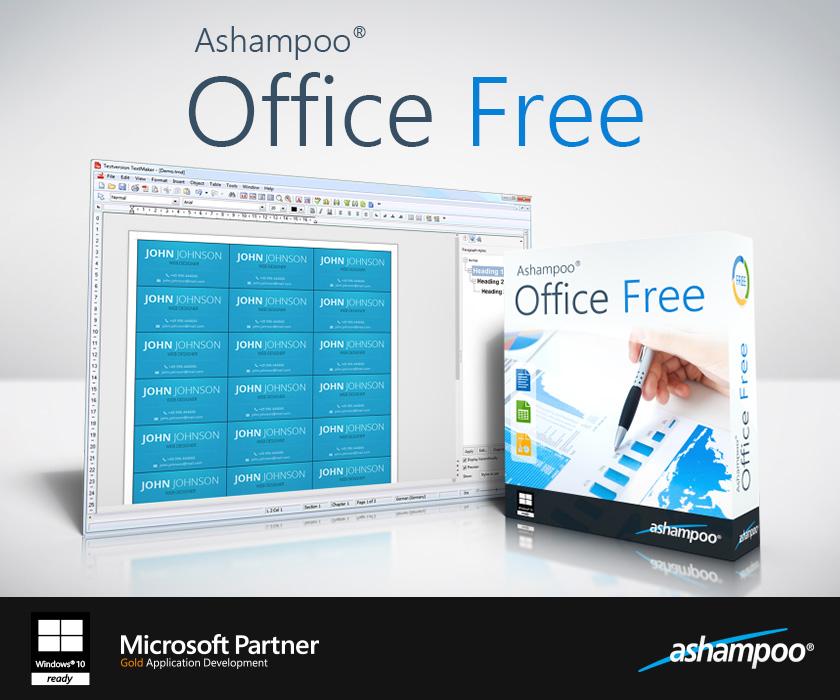 Ashampoo® Office Free 2018 Rev 963.04 full