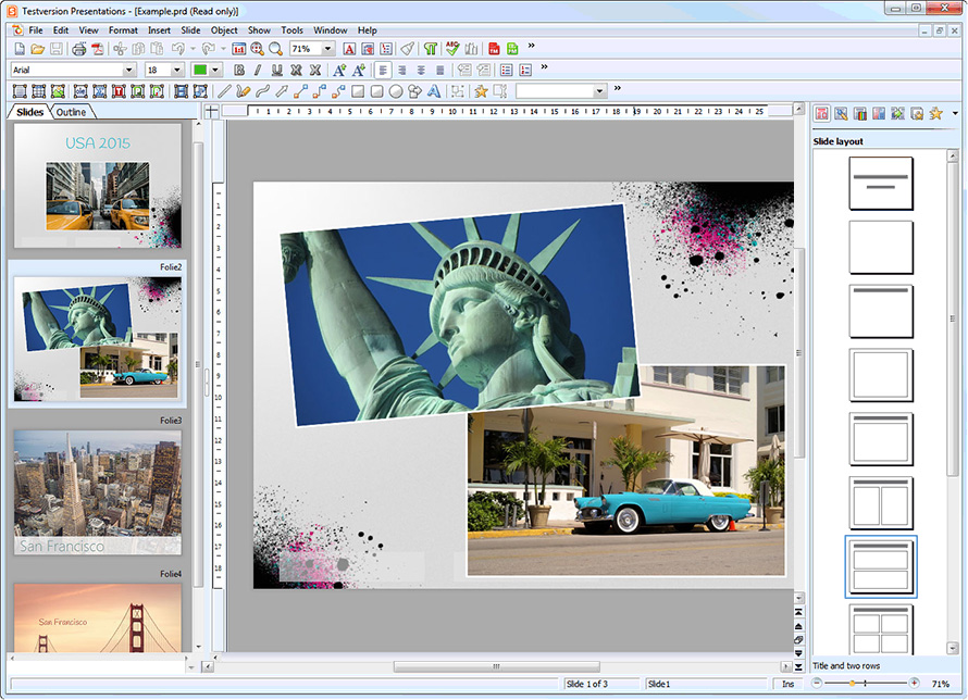 Ashampoo® Office Free screenshot