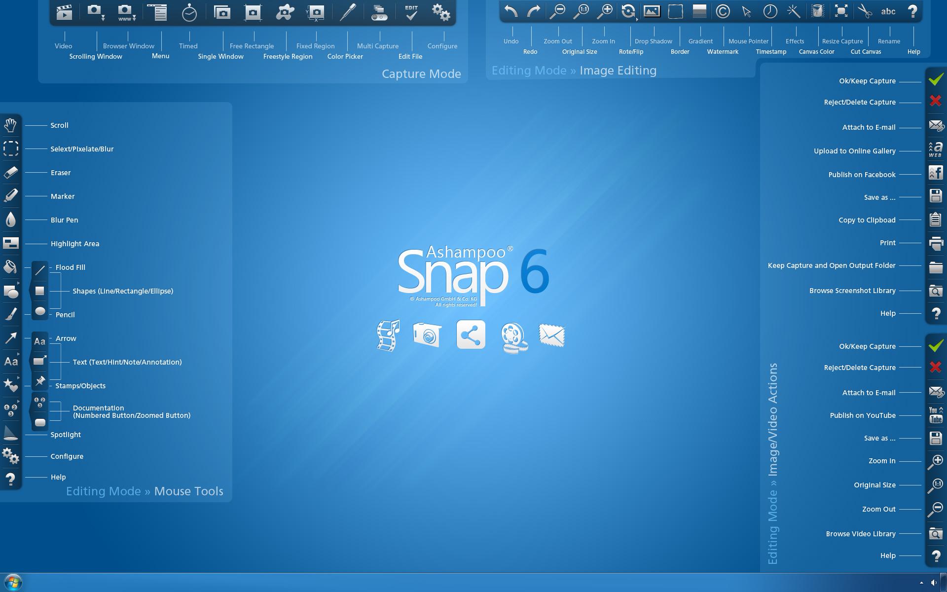 Ashampoo Snap 6 – 屏幕截图软件丨反斗限免