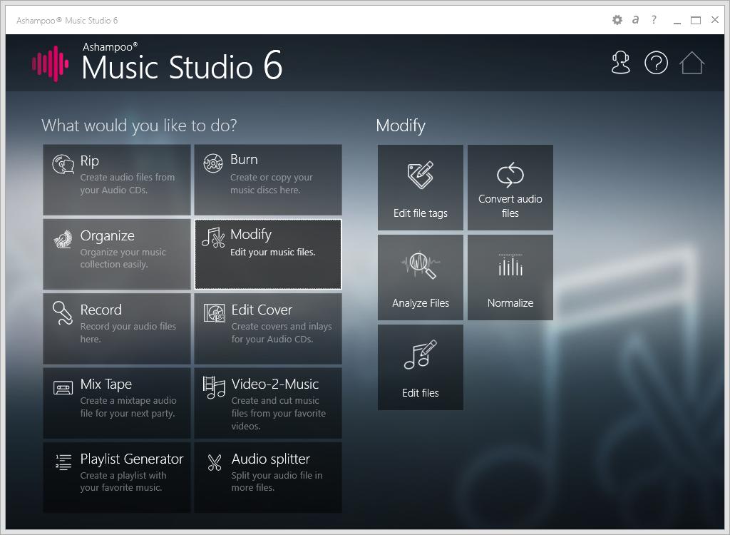 Ashampoo Music Studio crack لتحرير الملفات الصوتية بوابة 2016 scr_ashampoo_music_s