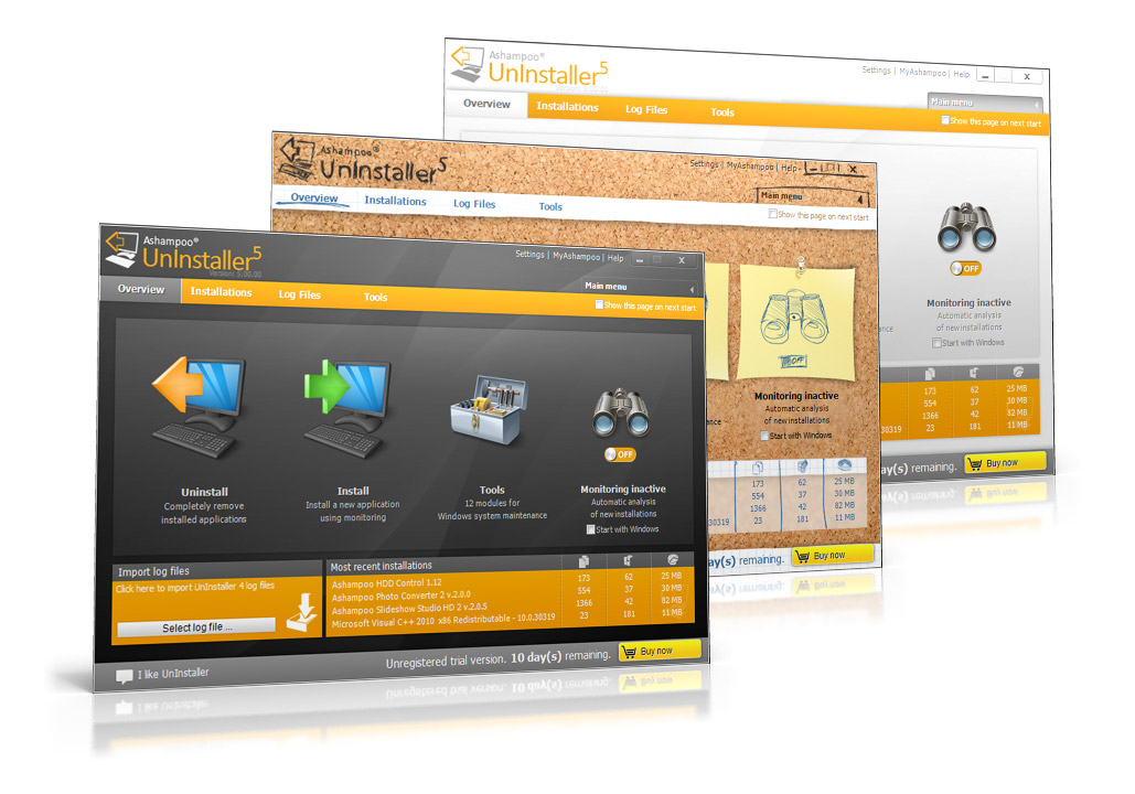 برنامج Ashampoo UnInstaller 5.04.00 لازالة