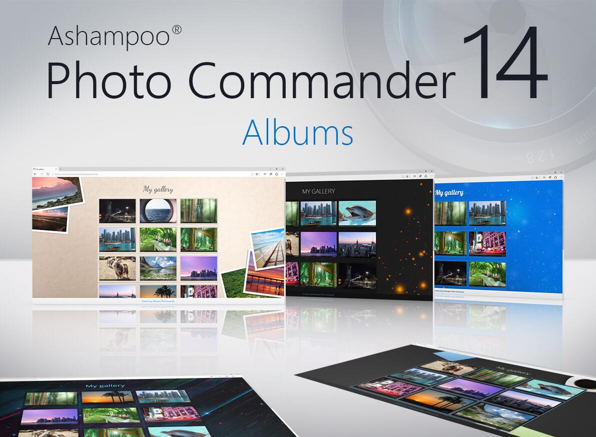 Ashampoo Photo Commander 14, resim görüntüleyici,Ashampoo Photo Commander, Fotoğraf editörü