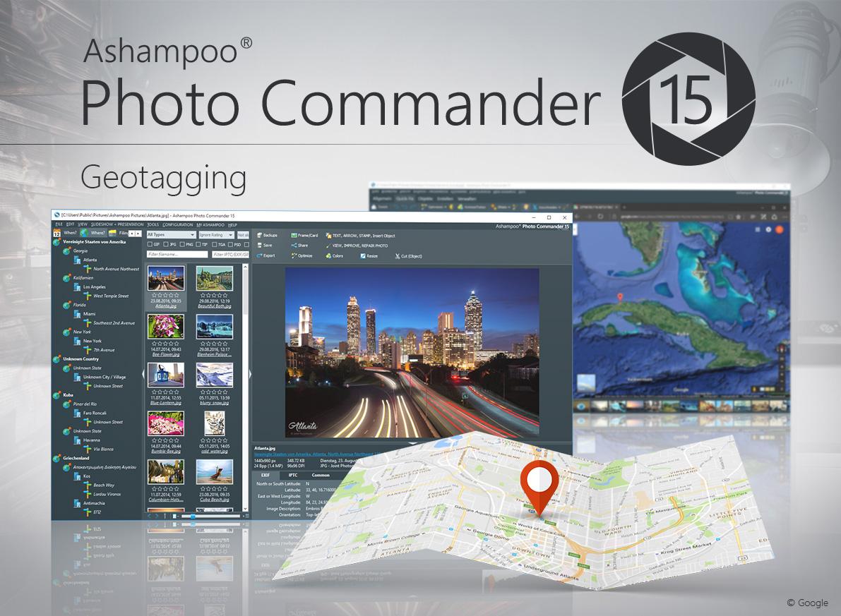 Ashampoo Photo Commander 15,Fotoğraf Düzenleme