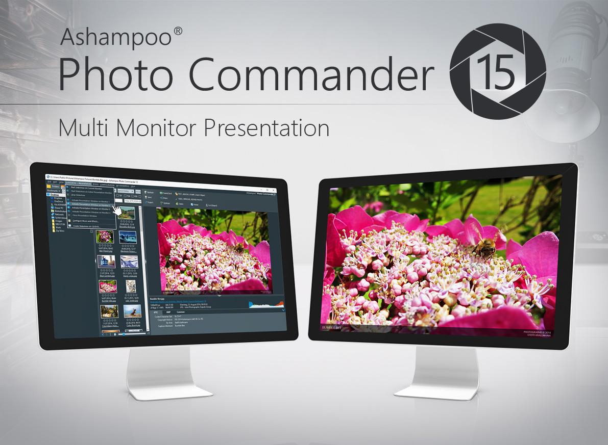 Ashampoo Photo Commander 15,resim görüntüleyici, resim düzenleme, dual-view, EXIF, fotoğraflar
