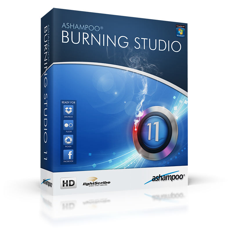 Ashampoo Burning Studio 2013 v11.0.6 Crack Full Español