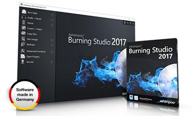 Ashampoo Burning Studio 2017 indir,Ashampoo Burning Studio 2017