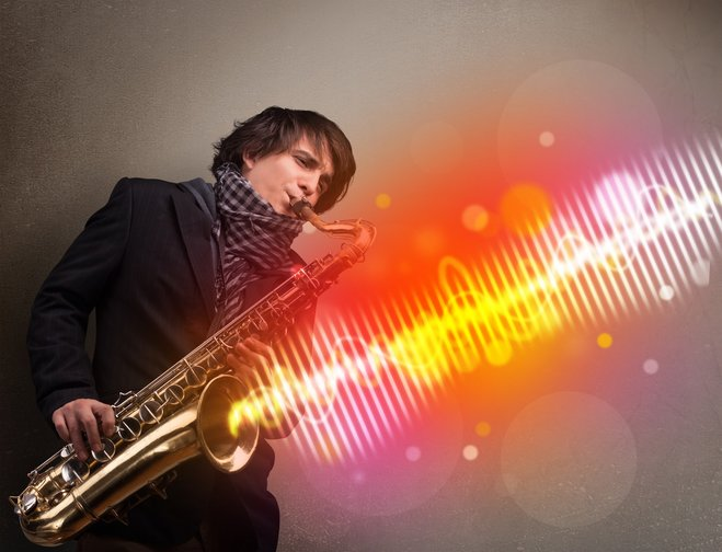He blows the saxophone - how much of it do we really hear?