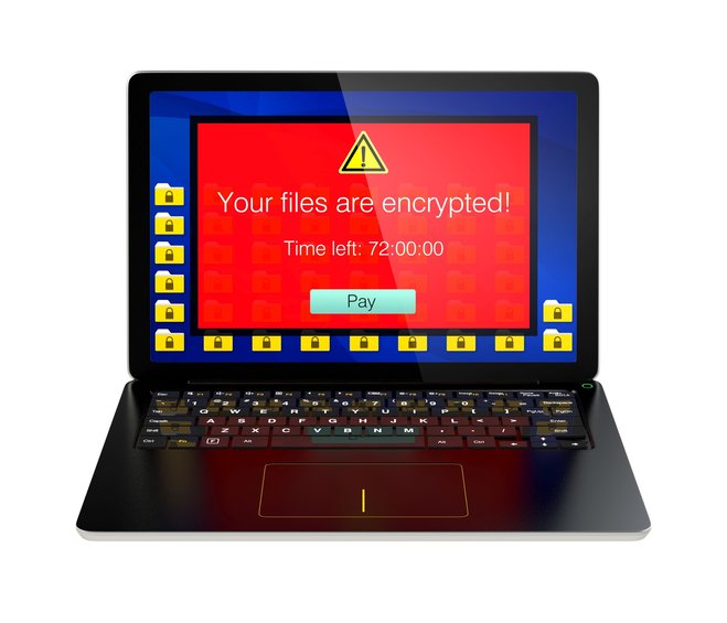 Your own files encrypted - a nightmare