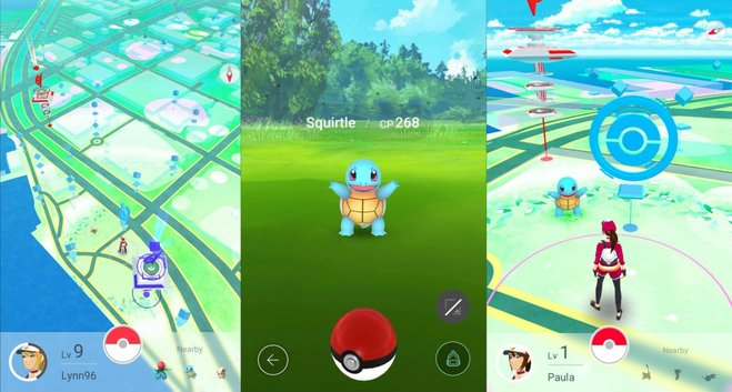 The colorful world of Pokémon Go