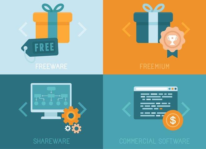 Shareware, Freeware, Freemium...