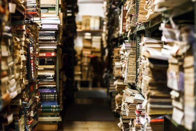 Der Geruch alter Bücher ist einfach unvergleichlich