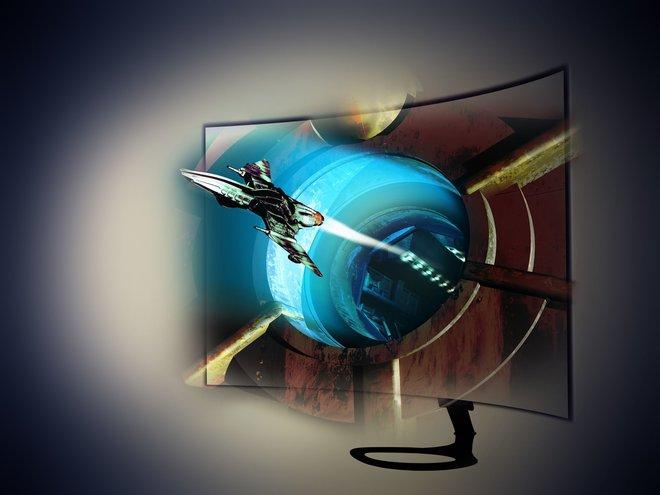 Noch vor einem Jahr der letzte Schrei: Ein gebogener 3D-Fernseher