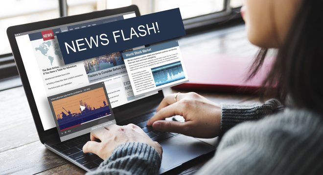 Part of your daily routine: current news via Internet