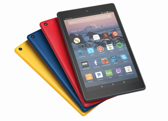More colors - the new Amazon Fire HD 8