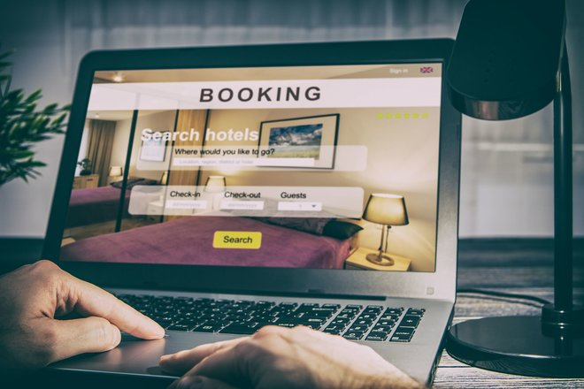 Booking a hotel room takes just seconds now
