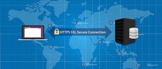 No HTTPS, no secure connection