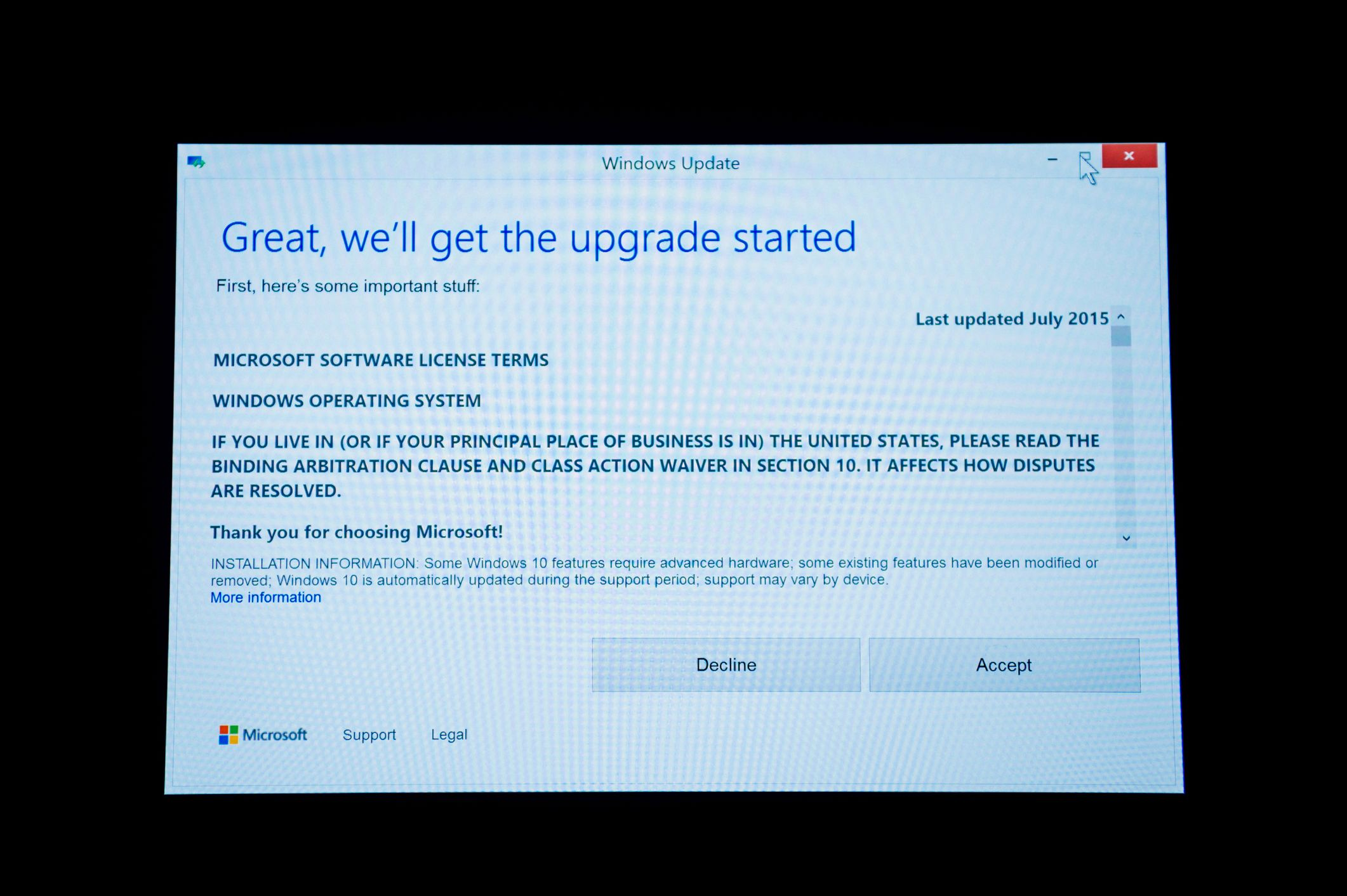 Das Upgrade auf Windows 10 - wenn man es denn will