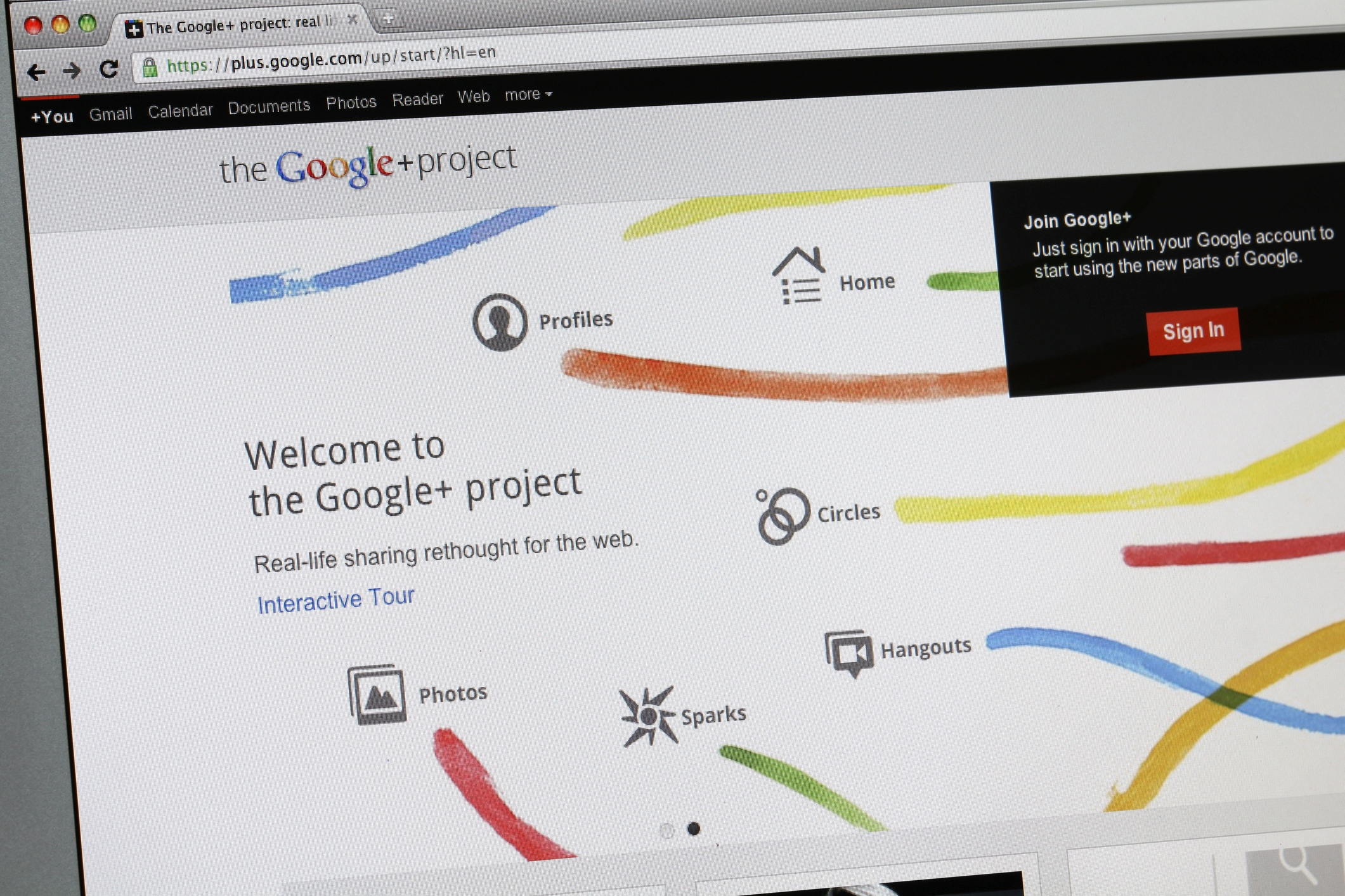 Da sah die Welt bei Google+ noch rosig aus: Der Beginn 2011