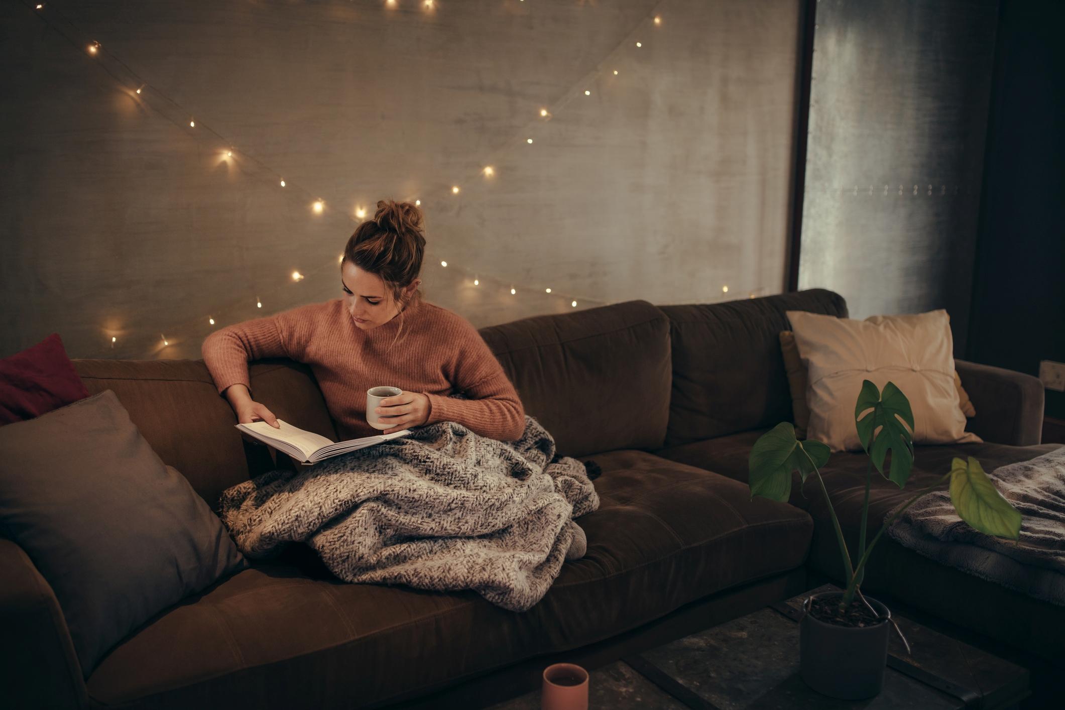 Was gibt es Gemütlicheres als entspannte Lektüre?