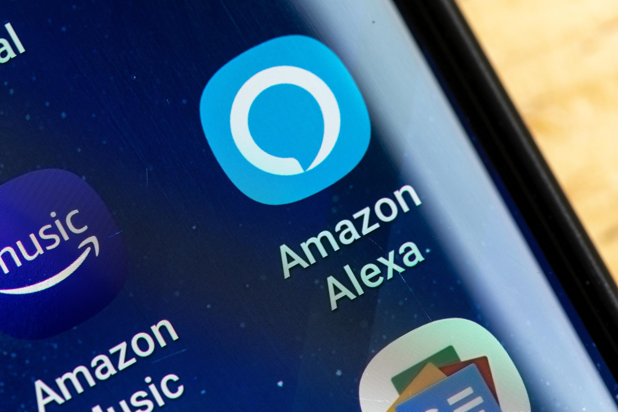 Alexa ist natürlich auch für das Handy zu haben