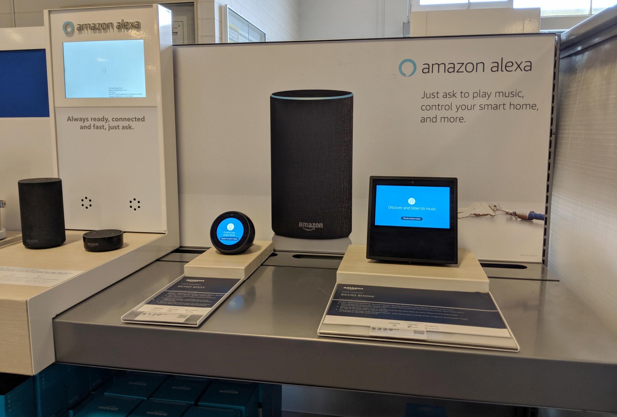 Vier Geräte, ein Prinzip: Wir reden mit ihnen