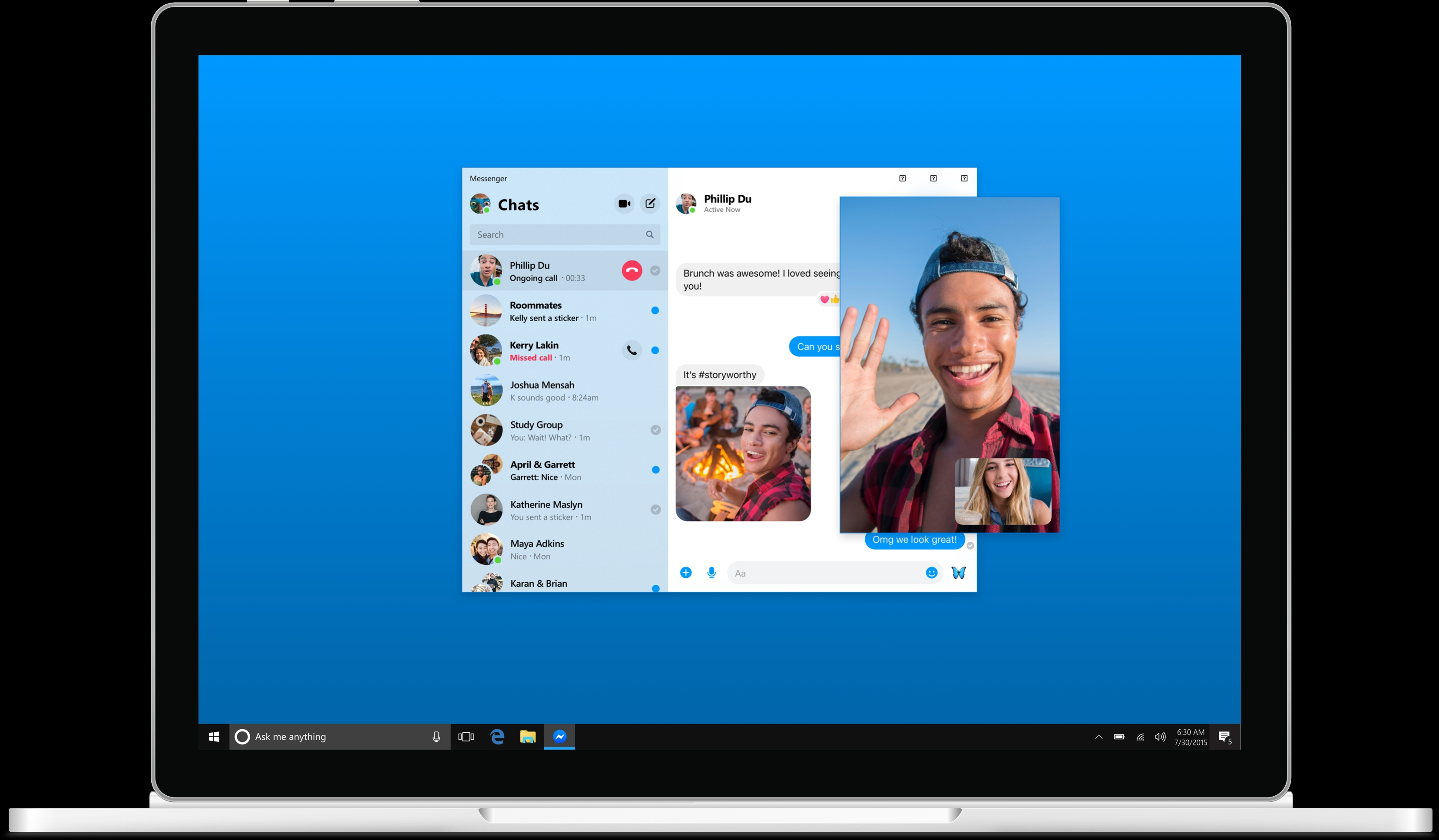 The new Facebook Messenger desktop app