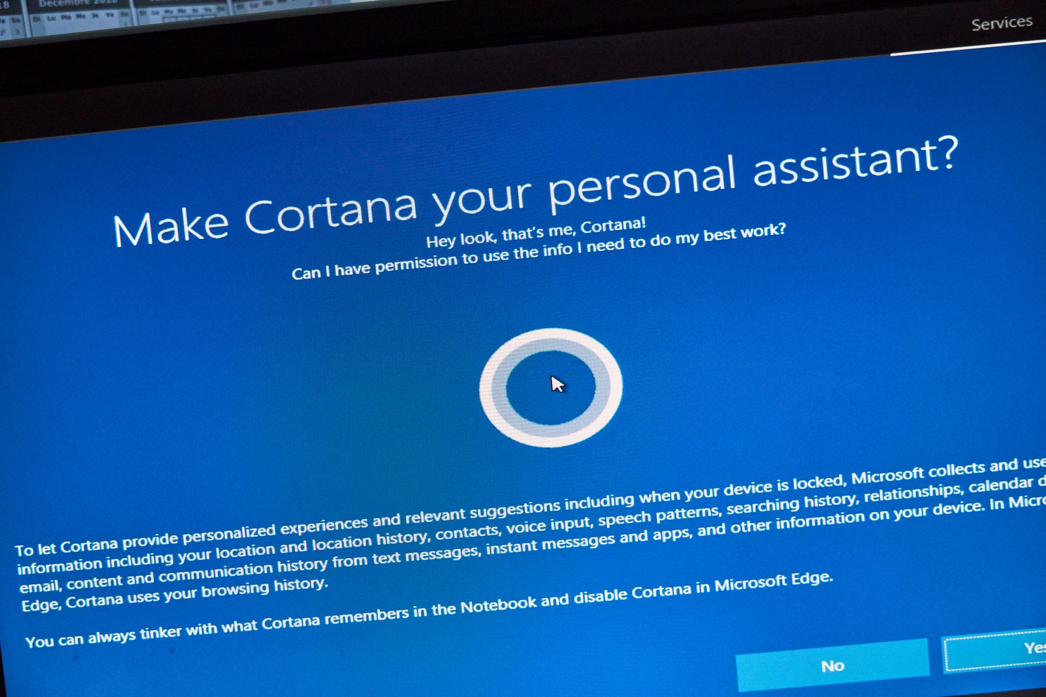 Bane or curse: Cortana