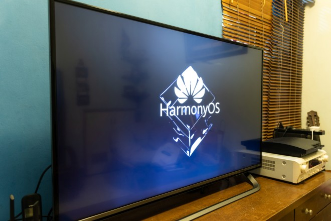 Smart TV with Harmony OS