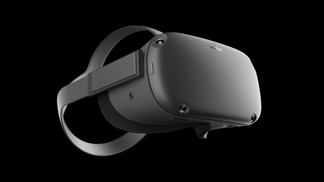 Usable without PC and external sensors: Oculus Quest