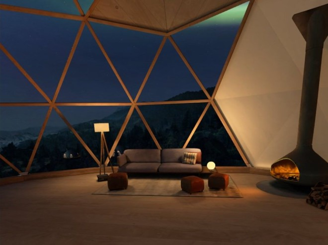 The virtual living room