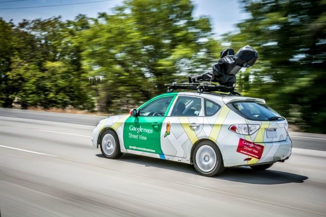 Für realitätsnahe Bilder unterwegs: Das Google Maps Street View Auto