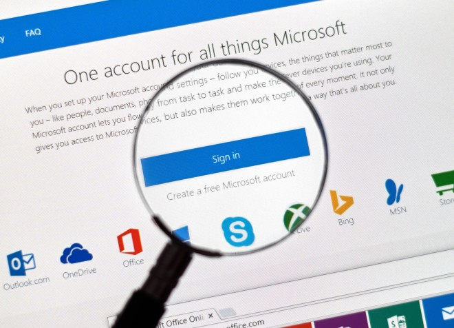 A multi-purpose account—if Microsoft get their way
