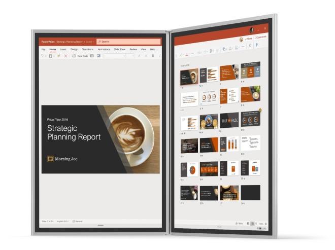 PowerPoint unter Windows 10X