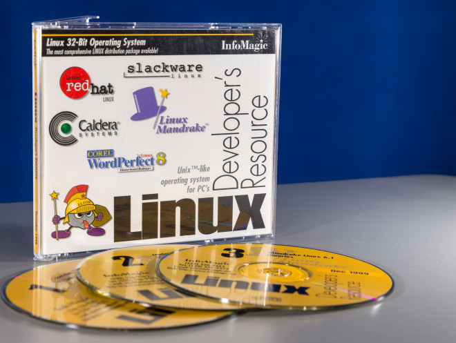 Linux distros from times past