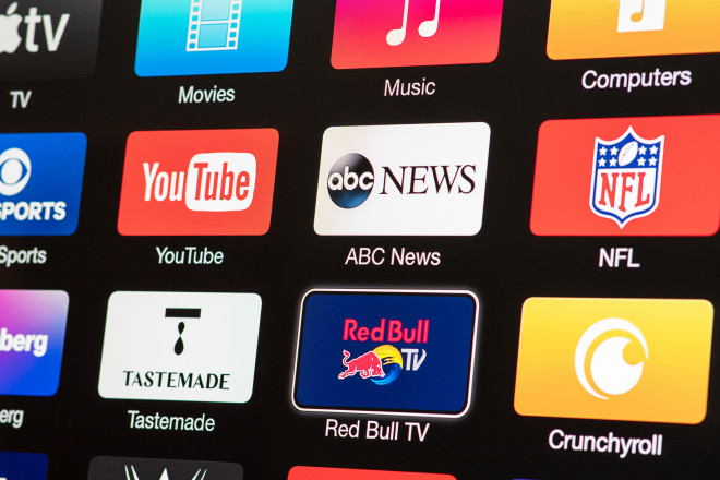 A huge selection of streaming channels