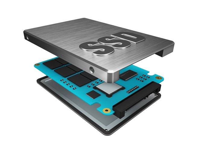 Ein SSD-Innenleben