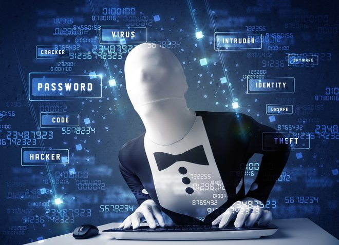 The faceless hacker - scammers are seldom caught