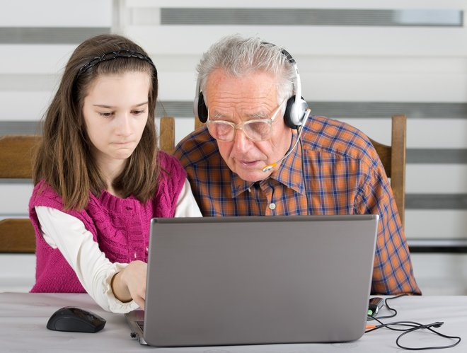 Computer können Generationen verbinden