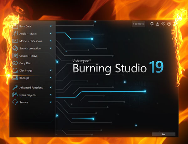 Screenshot: New Burning Studio 19