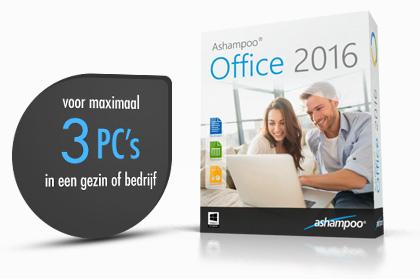 Bagde: voor maximaal 3 PC's in een gezin of bedrijf