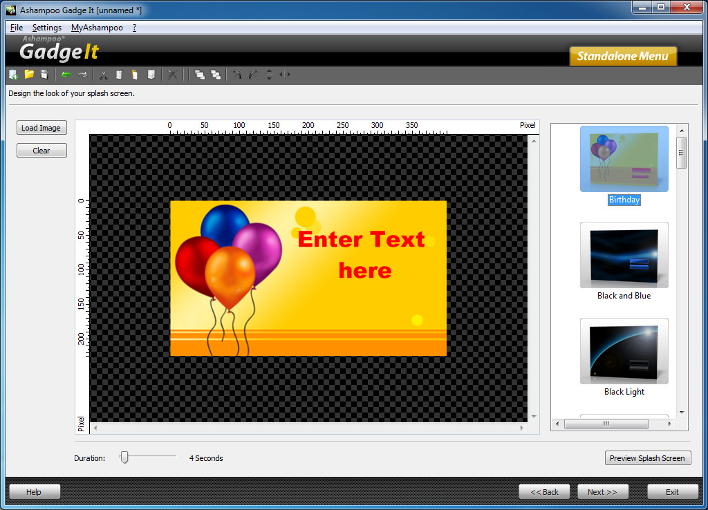 برنامج Ashampoo Gadge It 1.0.1.91 لانشاء ادوات خرافيه علي سطح المكتب