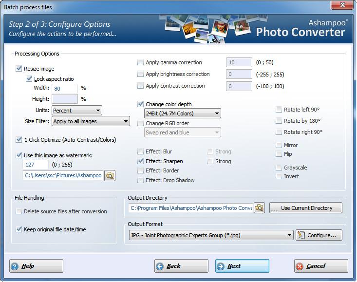 Ashampoo Photo Converter - 图片批量转换丨反斗限免
